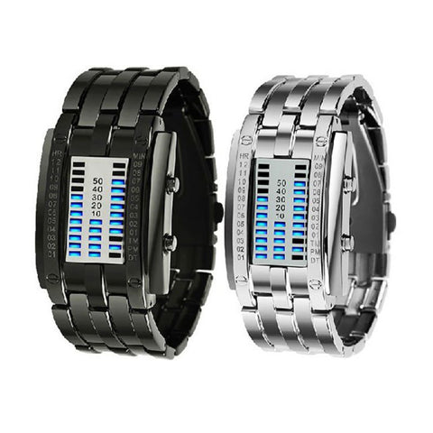 Balight Binary Time Wristwatch
