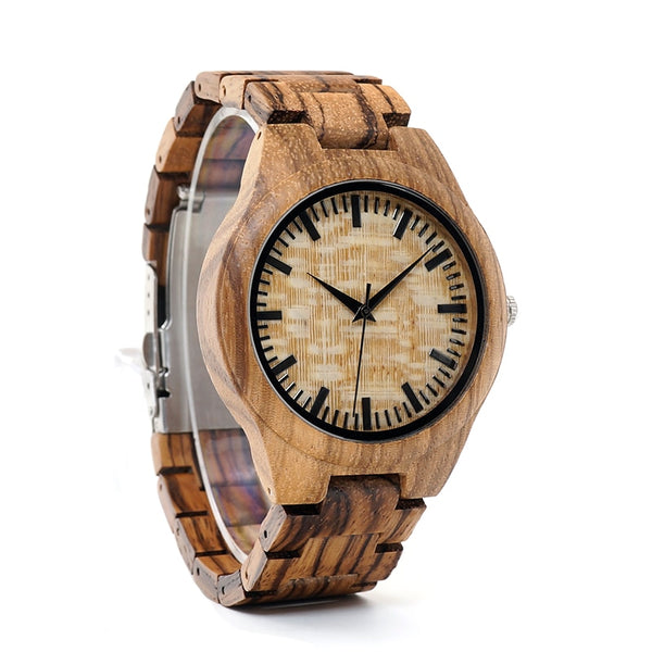 BOBO BIRD Handmade Wood Wristwatches
