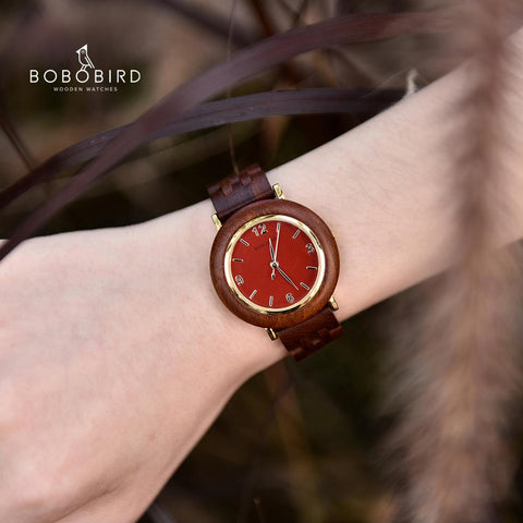 BOBO BIRD Ultra Thin Light Quartz Women Watch