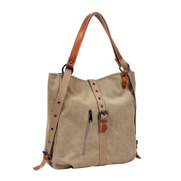 DIDABEAR Canvas Tote Bag