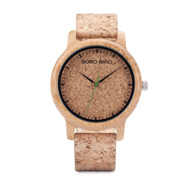 BOBO BIRD Cork Strap for Men and Women