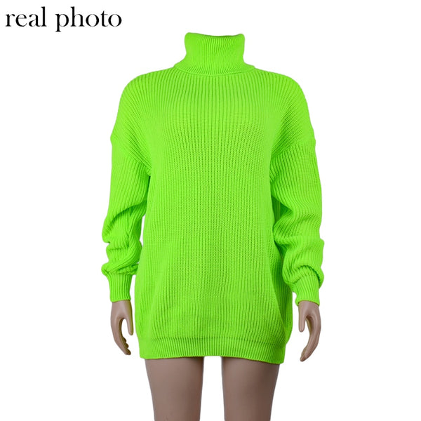 Turtleneck Knitwear.