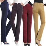 Straight Fit Corduroy Pants - T's Little Store - T's Little Somethings