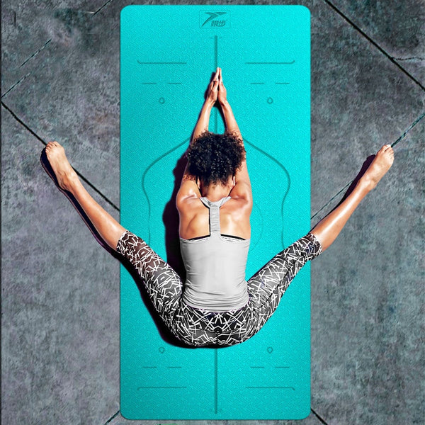 Classic Yoga Mat with Alignment