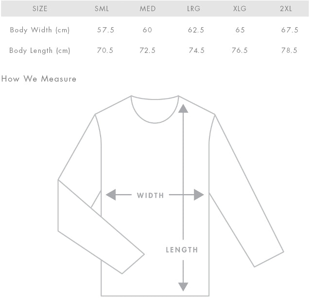 Black All 4 Adventure Hoodie Size Guide
