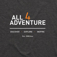 Load image into Gallery viewer, Discover•Explore•Inspire Tee