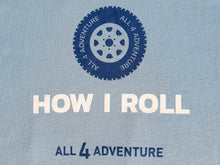 Load image into Gallery viewer, How I Roll Tee (Kids)