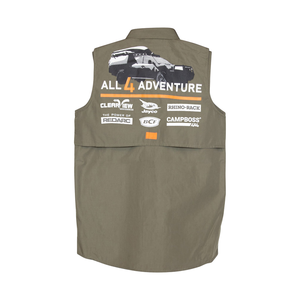 Series 12 - Official Fishing Shirt - Sleeveless (Kids)