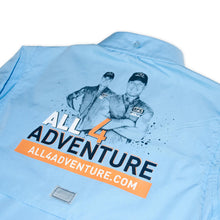 Load image into Gallery viewer, Adventure Unleashed Fishing Shirt