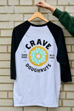 Load image into Gallery viewer, Crave Logo Baseball Tee