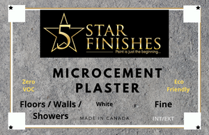 Microcement Floor - 5 Star Finishes Ltd