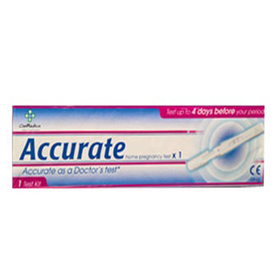 ACCURATE PREGNANCY TEST KIT
