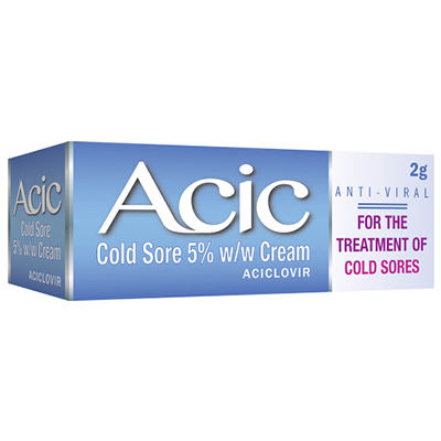 ACIC 5% COLD SORE CREAM