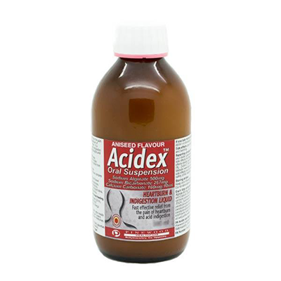 ACIDEX ORAL SUSPENSION