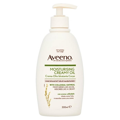 AVEENO MOISTURISING CREAMY OIL PUMP 300ML