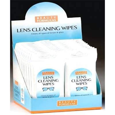 BF LENS CLEANING WIPES 20'S