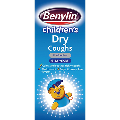 BENYLIN CHILDREN'S DRY COUGH SYRUP