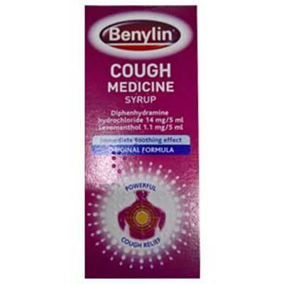 BENYLIN COUGH MEDICINE SYRUP 125ML (FORMERLY TRADITIONAL)