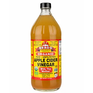 BRAGG ORG APPLE CIDER VINEGAR- WITH THE MOTHER