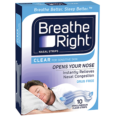 BREATH RIGHT CLEAR 10s