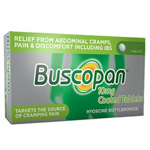 BUSCOPAN 10MG TABLETS