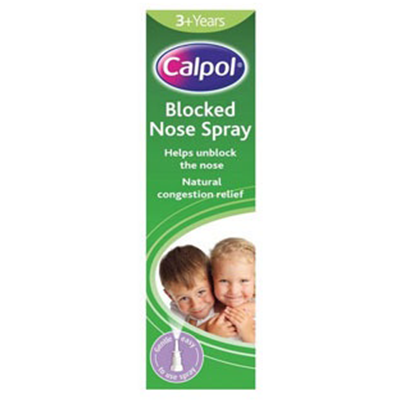 CALPOL BLOCKED NOSE SPRAY 3YR+ 15ML
