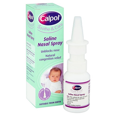 CALPOL SALINE NASAL SPRAY