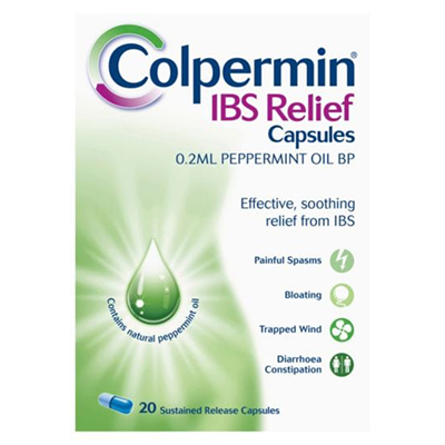 COLPERMIN PEPPERMINT OIL CAPS 20'S