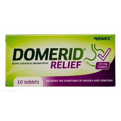 DOMERID RELIEF TABS 10MG