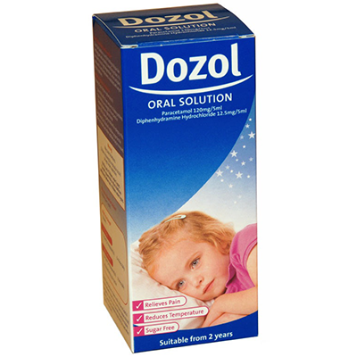 DOZOL ORAL SOLUTION 100ML