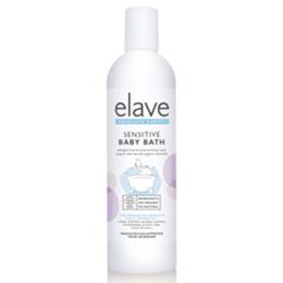 ELAVE ECOCERT SENSITIVE BABY BATH 400ML