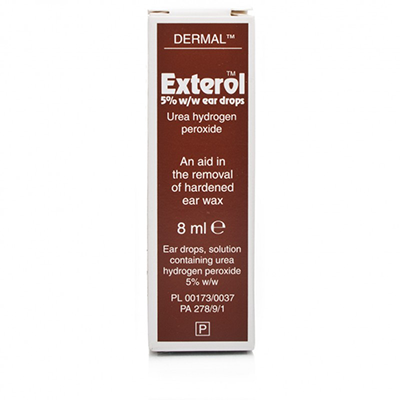 EXTEROL 5% EAR DROPS 8ML