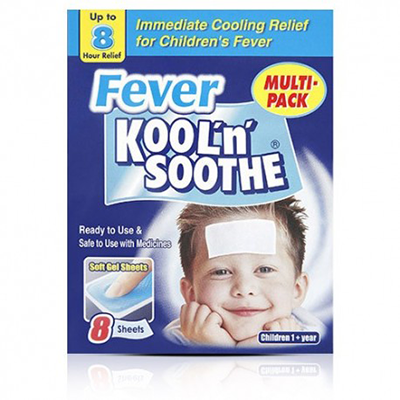 KOOL 'N' SOOTHE FEVER PATCH KIDS