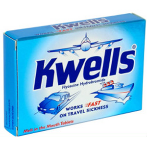 KWELLS TRAVEL SICKNESS TABLETS 12'S