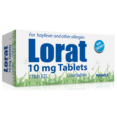 LORAT ALLERGY 10MG TABLETS