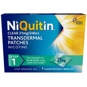 NIQUITIN CQ  21MG CLEAR PATCHES STEP 1 (14'S)