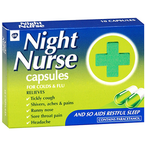 NIGHT NURSE CAPS