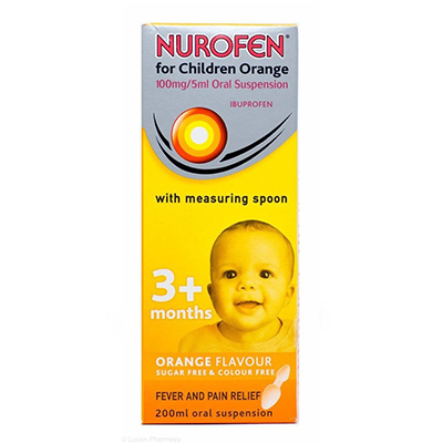 NUROFEN FOR CHILDREN 3M+ W/SPOON