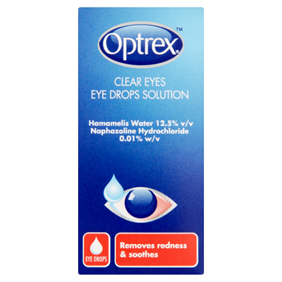 OPTREX CLEAR EYES DROPS 10ML