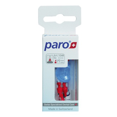 PARO RED INTERDENTAL BRUSH 1.7MM