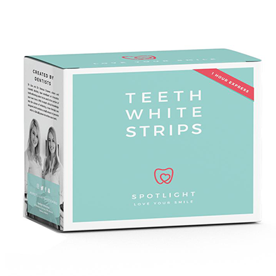 SPOTLIGHT TEETH WHITENING STRIPS 1HR EXPRESS