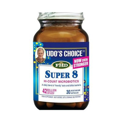 UDO'S CHOICE SUPER 8 MICROBIOTICS 30'S
