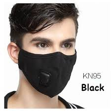 WECAN BLACK PROTECTIVE MULTI-LAYERED FILTER MASK