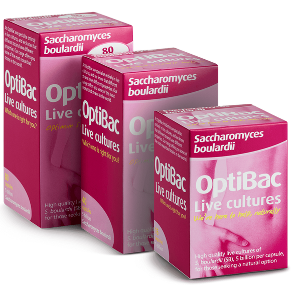OPTIBAC PROBIOTICS BOWEL CALM 16'S