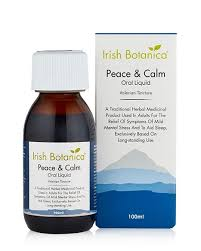 IRISH BOTANICA PEACE & CALM ORAL LIQUID 100ML (VALERIAN)