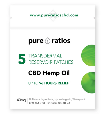 Pure Ratios 5-Pack CBD Patch