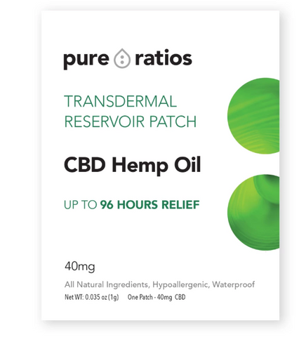 Pure Ratios 96-Hour CBD Patch