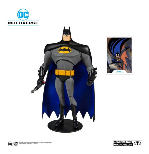 Dc Multiverse Batman Mcfarlane Animated Series 20cm