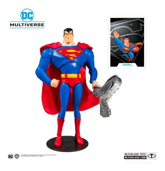 Dc Multiverse Superman Mcfarlane Animated Series 20cm