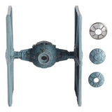 Tie Fighter Star Wars Hot Wheels Elite Nave Original Oferta